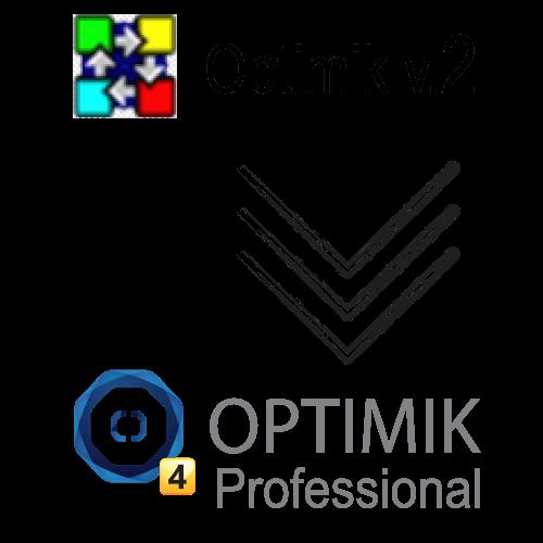 Upgrade Optimik v.2 to Optimik Professional